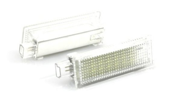 Lampi LED Portiere si Interior BMW Lumina Alba CANBUS