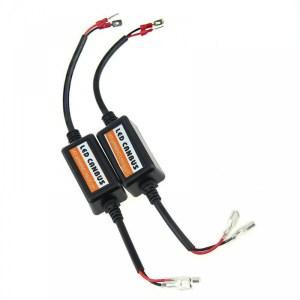 Set 2 anulatoare eroare becuri LED H1 Anuleaza erorile de bec ars la marea majoritate a masinilor Pot fi folosite pentru orice tip de becuri cu led H1 PREMIUM AUTO