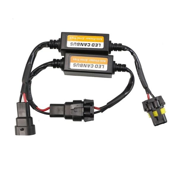 Set 2 anulatoare eroare becuri LED HB3 (9005), HB4 (9006) PREMIUM Auto