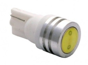 Led auto T10 COB Alb Super Power 1W W5W