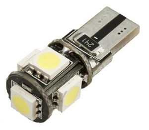 Led auto T10 Canbus ALB cu 5 SMD W5W