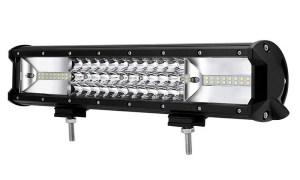 """LED Bar Auto 216W, leduri pe 3 randuri, 12V-24V, 15120 Lumeni, 15,5""""/39,4 cm, Combo Beam 12/60 Grade PREMIUM"""