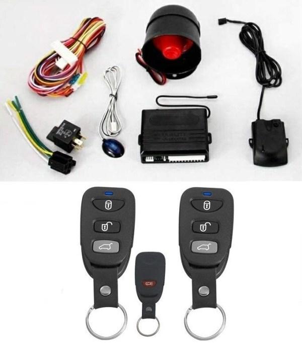 Alarma auto K135 cu 2 telecomenzi PREMIUM