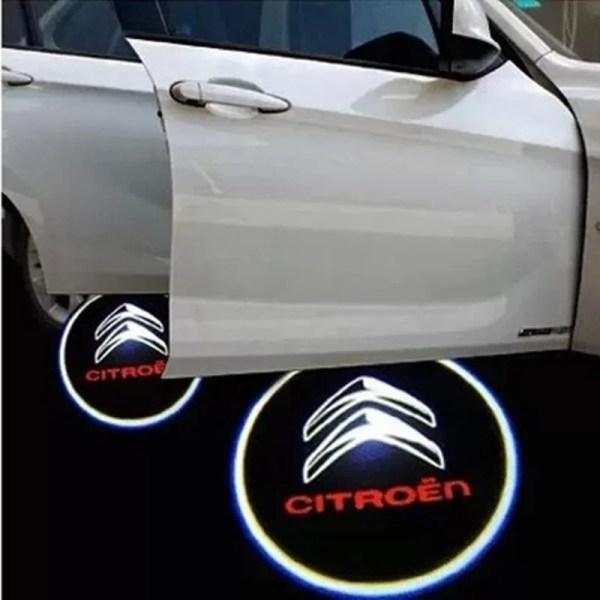 Proiectoare Portiere cu Logo Citroen PREMIUM