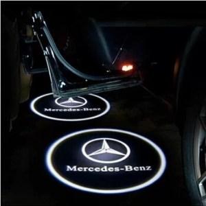 Proiectoare Portiere cu Logo Mercedes-Benz PREMIUM