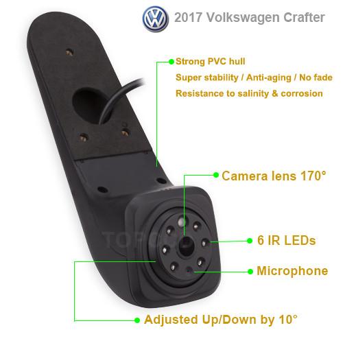 Camera marsarier Volkswagen Crafter 2017 - prezent (PZ475) 815CL PREMIUM
