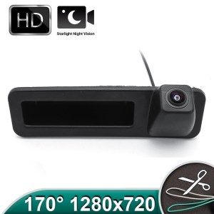 Camera marsarier HD, unghi 170 grade, StarLight Night Vision BMW G20, G30, F52, X1 F48 F49, X2 F39, X3 G08, X4 G02, X5 G05, X6 G06 PREMIUM