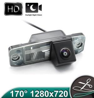 Camera marsarier HD, unghi 170 grade cu StarLight Night Vision Hyundai ELANTRA, SONATA, ACCENT, TUCSON, VERACRUZ PREMIUM
