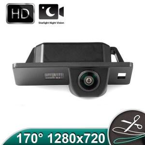 Camera marsarier HD, unghi 170 grade cu StarLight Night Vision pentru Skoda Superb 2 Sedan PREMIUM