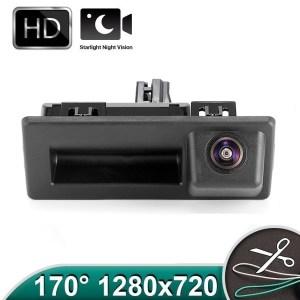 Camera marsarier HD, unghi 170 grade cu StarLight Night Vision Skoda Octavia 3, Superb 3 PREMIUM