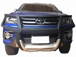 Bullbar poliuretan cu protectie faruri Toyota Hilux 2005, 2006, 2007, 2008, 2009, 2010, 2011 TYA406 PREMIUM