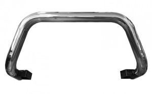 Bullbar inox Toyota Hilux Revo 2015, 2016, 2017, 2018, 2019 Ø76mm TYA403 PREMIUM
