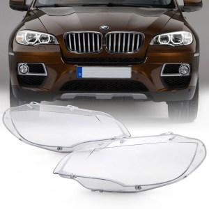 Set 2 sticle faruri pentru BMW X6 E71 (2008 - 2014) - HB080 OEM
