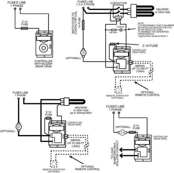 Digital Timer ( model SDT-2 and SDT-3RT )