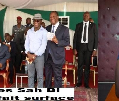 Disparu 27 ans après: Dje Sah Bi réapparaît - ses relations avec Alassane Ouattara LEDEBATI.VOIRIEN.NET