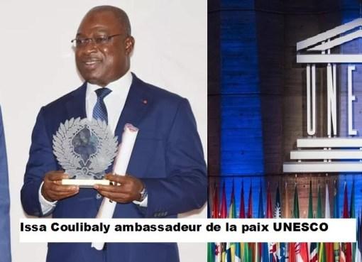 cote d'ivoire: le général issa Coulibaly fait ambassadeur de la paix par la chaire UNESCO
