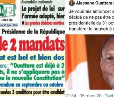 Koné Bruno et le 3è mandat de ouattara LEDEBATIVOIRIEN.NET