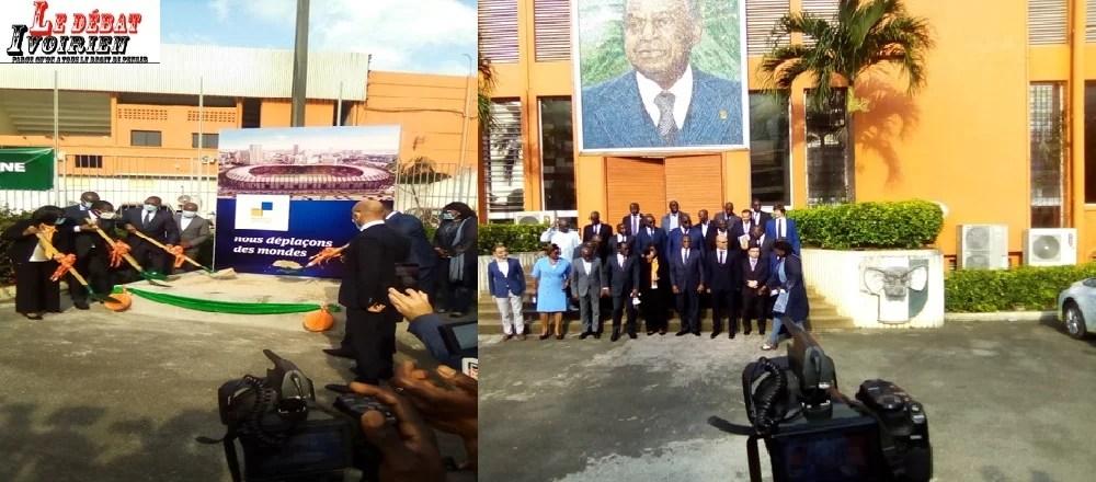 Côte d'Ivoire-18 mois: plus de 65 milliards de Francs CFA pour la rénovation Stade Félix Houphouët-BoignyLEDEBATIVOIRIEN.NET
