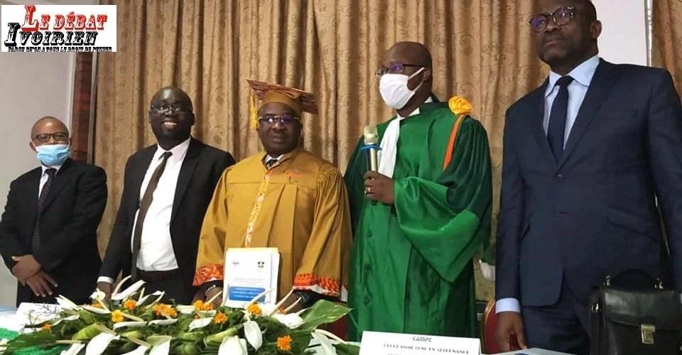 Zié Daouda Coulibaly évalue la coopération et la formation de l'armée en Côte d'Ivoire soutenance LEDEBATIVOIRIEN.NET