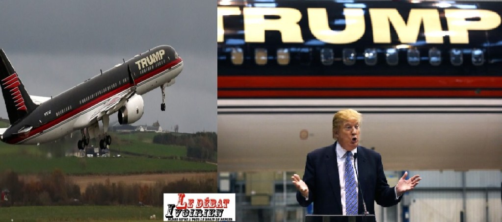 donald trump avion