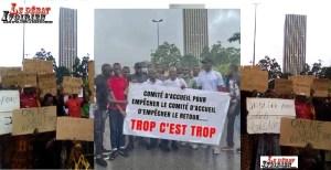 DES VICTIMES DES CRISES MANIPULEES SAM L'AFRICAIN ET ISSA DIABY LEDEBATIVOIRIEN.NET
