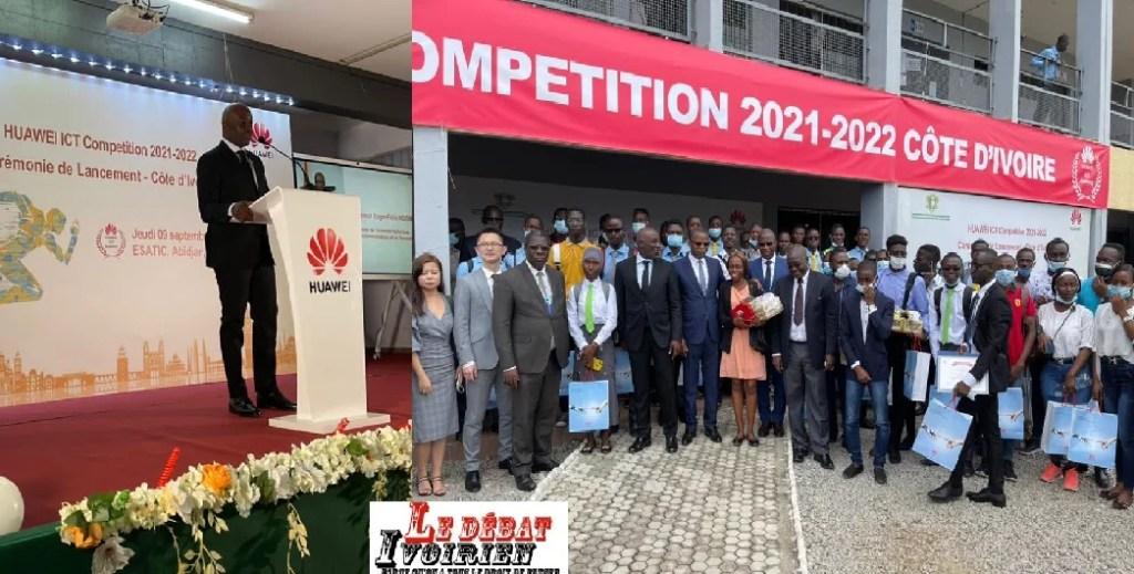Développement de talents : Huawei ICT Compétition lancée pour l'intégration de l'industrie et de l'éducation. LEDEBATIVOIRIEN.NET