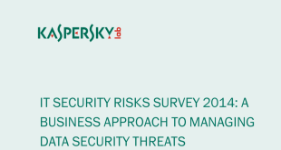 IT Security Risk Survey 2014 A business approach to managing data security threats