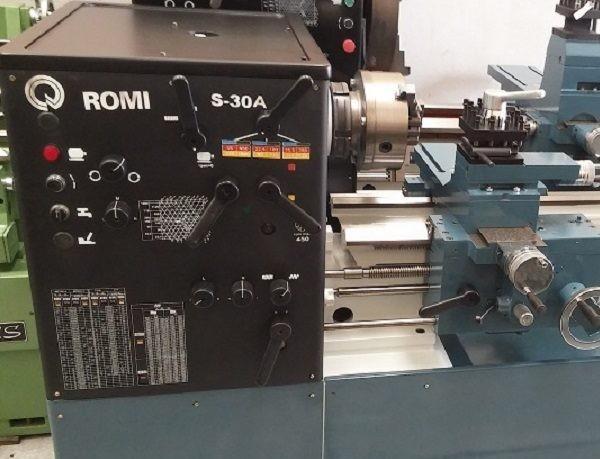 Torno Romi S-30-A 1200 mm. Ledemaquinas