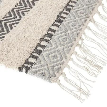 tapis coton a franges atmosphera