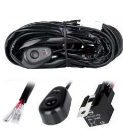 off road led light bar wiring harness kit 1 connector [ 1200 x 1200 Pixel ]
