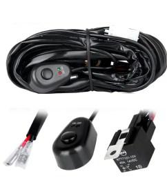 off road led light bar wiring harness kit 2 connectors [ 1200 x 1200 Pixel ]