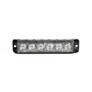 Swift 3.0 TIR 3 Watt 6 LED Emergency Vehicle Grill Warning Light Head