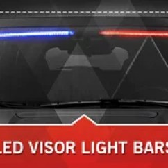 Led Bar Wiring Diagram 7 Way Wire Emergency Vehicle Lights Police Equipped 03