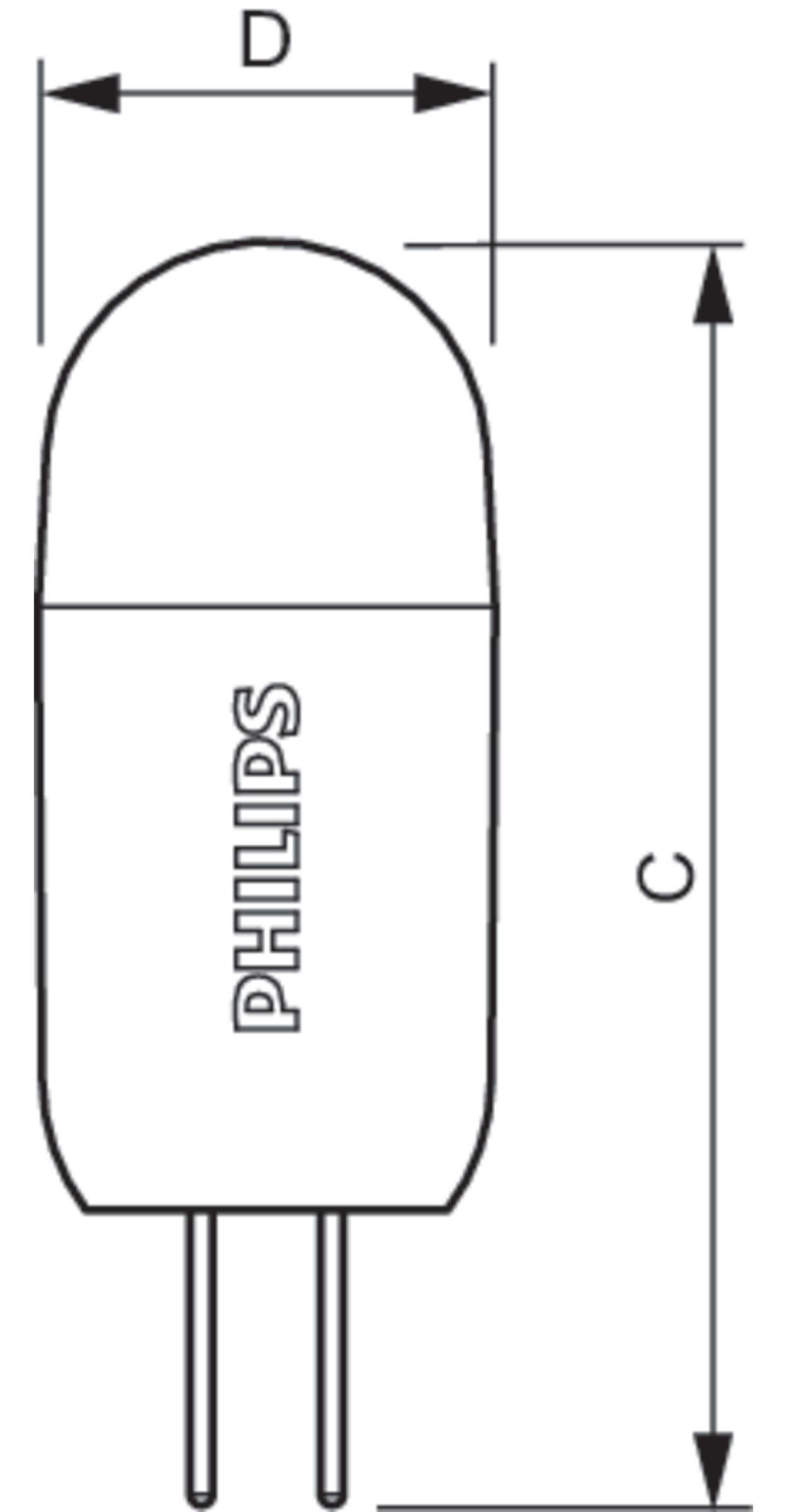 Philips Corepro Ledcapsulelv 2 20w 827 G4 D