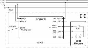 Osram OT 50120277800 2DIMLT2 P  LED accessories