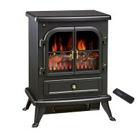 NEW see through electric fireplace Free Standing Electric ...