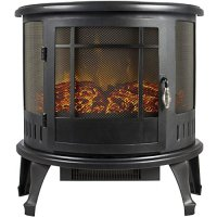 Portable Electric Fireplace Stove Heater Realistic Flame ...