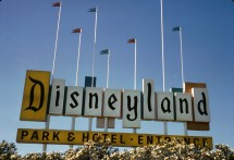 Disneyland Marquee Collectible Wood Sign - Errors