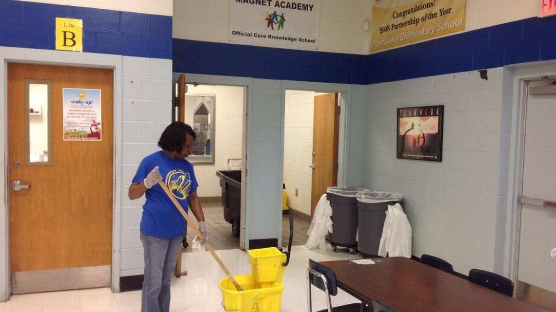 Radically changed system of cleaning Muscogee schools