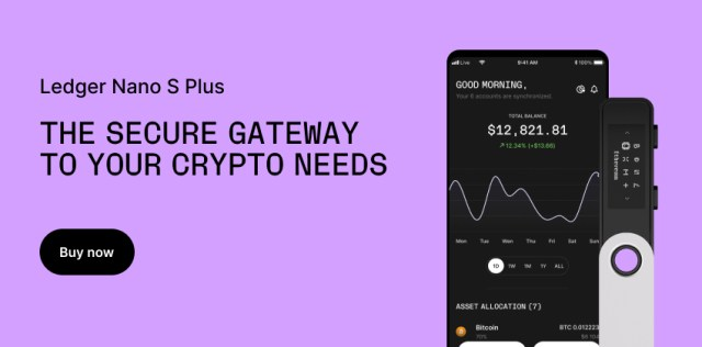 Ledger Nano X - The secure hardware wallet