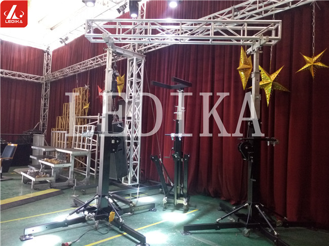 boxing matching lighting truss system stable convenient for transportation