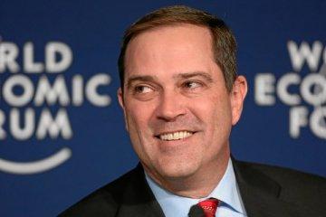 Photo de Chuck Robbins, PDG de Cisco, au World Economic Forum