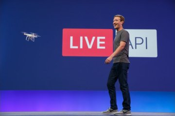 Mark Zuckerberg à la conférence F8