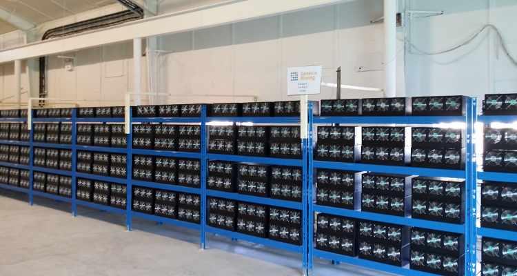 Ferme de minage de Bitcoin de Genesis Mining. Photo: Marco Krohn