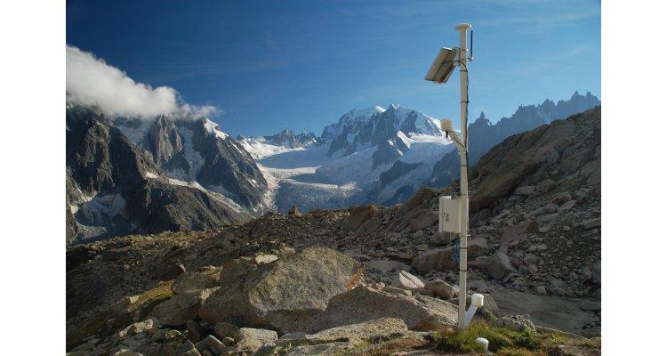 Station automatique de mesure des températures de l'arc alpin