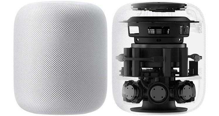 Haut-parleur connecté HomePod d'Apple