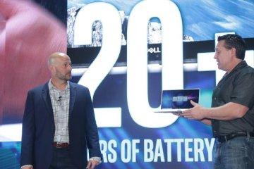 Intel présente sa technologie de réduction de la consommation d'écran sur un Dell XPS 13