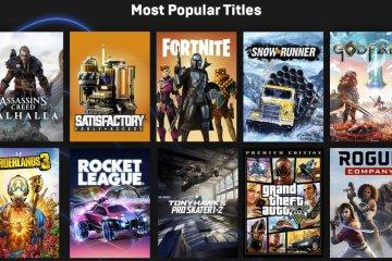 Jeux les plus populaires sur Epic Games Store en 2020