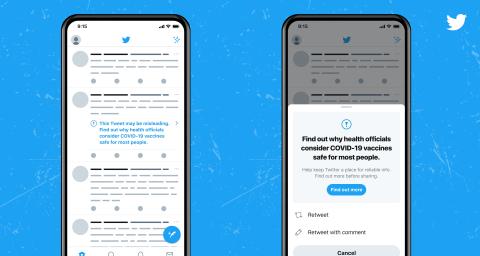 Twitter prend des mesures contre les mésinformations liées aux vaccins pour la Covid-19