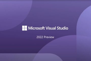 Visual Studio 2022 préversion 1